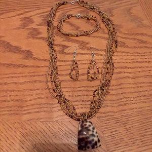 Jewelry - Leopard Seed Bead Set